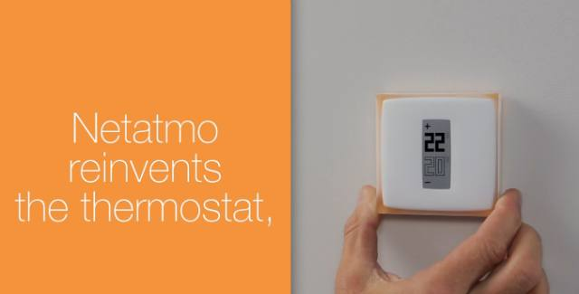 Get your personal weather station and thermostat from Netatmo
