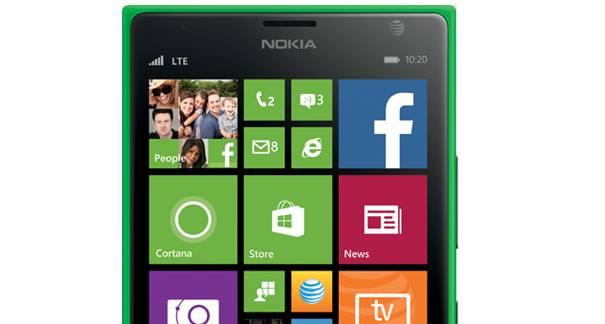 Bright green Nokia Lumia 1520 on ATT