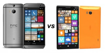 HTC One M8 for Windows vs Nokia Lumia 930/Icon