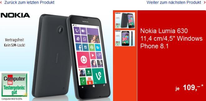 Aldi Lumia 630