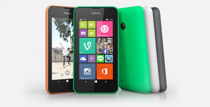 Nokia Lumia 530 all colors