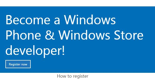 register a new Developer Accout