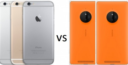 iPhone 6 vs Nokia Lumia 830