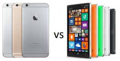 iPhone 6 Plus vs Nokia Lumia 930: specs comparison