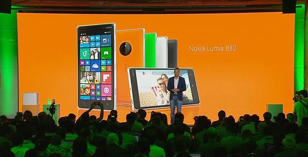 Microsoft launches the Nokia Lumia 830 and Lumia 730/735
