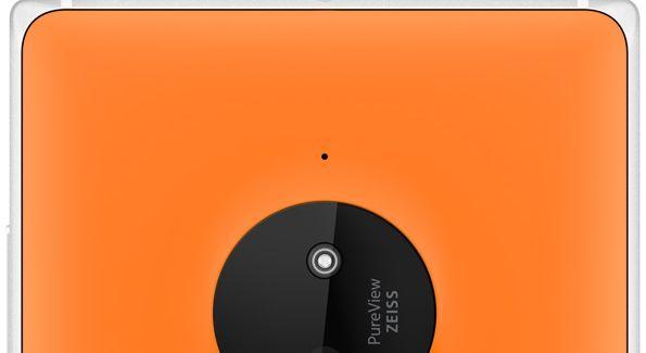 Lumia 830 orange camera 10MP