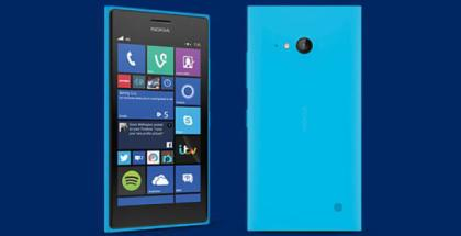 MIcrosoft Nokia Lumia 735 Cyan for Carphone Warehouse