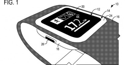 Microsoft smart wearable pattent