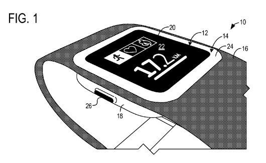 Microsoft smart wearable pattent