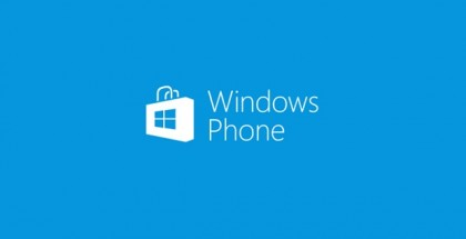 windows phone store logo blue