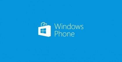 windows phone store logo blue