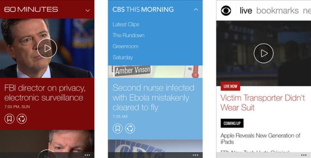 CBS News gets Push notifications for Headline News