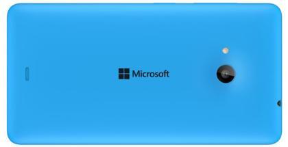 Microsoft Lumia 535 back Cyan