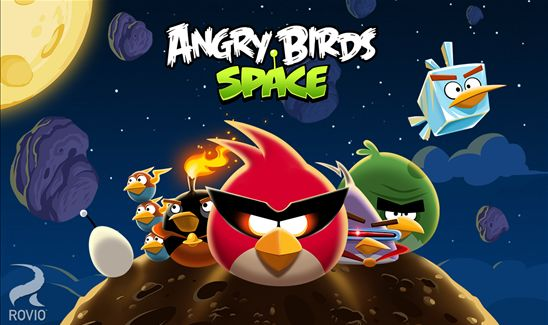 Angry Birds Space Windows Phone