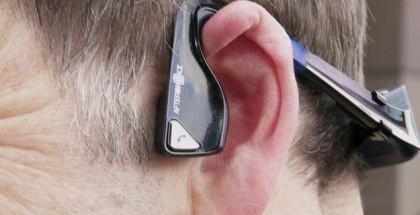 Microsoft headset for blind people