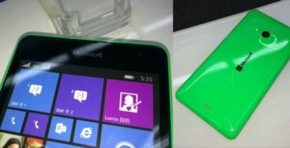 Leaked photos of the Lumia 535