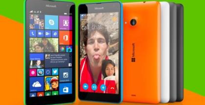 Lumia 535 official photo