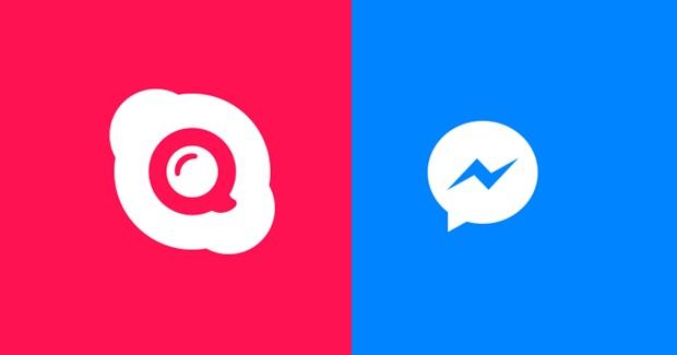 Skype Qik and Facebook Messenger
