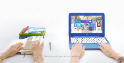 HP Stream 11 promo TV ad
