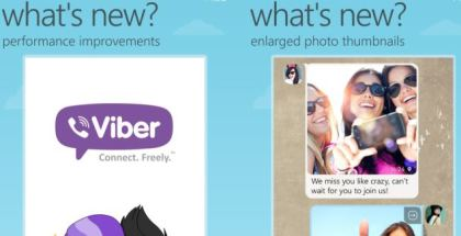 what is new in viber for windows phone