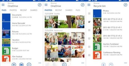 OneDrive version 4.5.0.0 new design
