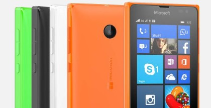 Microsoft Lumia 532 close front