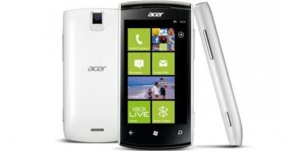 Acer w4 allegro phone