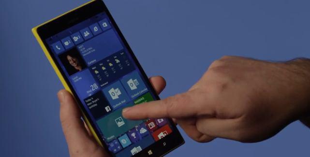 Windows 10 for phones hands on