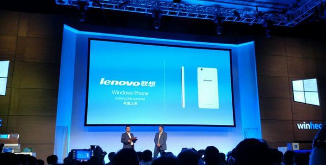 Lenovo releases a Windows 10 phone