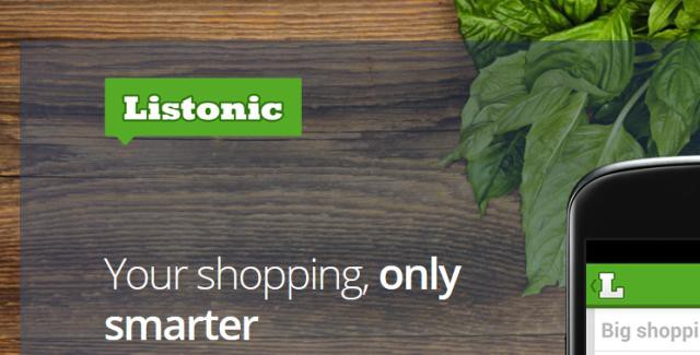 Listonic aims to make your shopping smarter