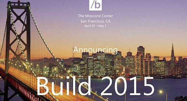 BUILD 2015 Microsoft conference
