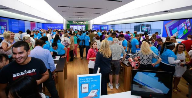 Microsoft Store Real physical Sydney Australia USA