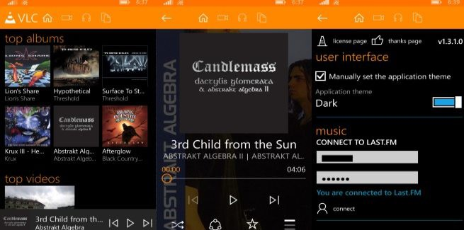 vlc media player windows phone