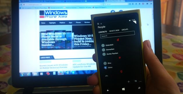 Windows 10 Mobile Technical Preview version 2