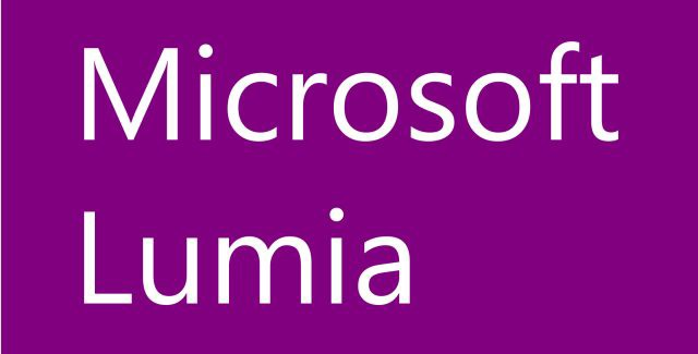 Microsoft Lumia Logo purple