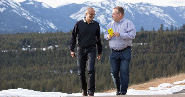 Satya Nadella voted against the Nokia deal