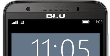 BLU Win HD front logo LTE