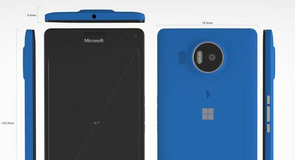 Microsoft Lumia 950 XL size specs are surprisingly good