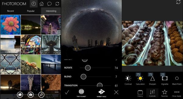 Fhotoroom Windows 10 Mobile
