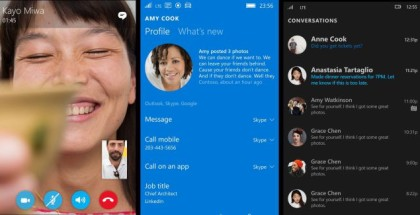 Skype Messaging app Windows 10 Mobile