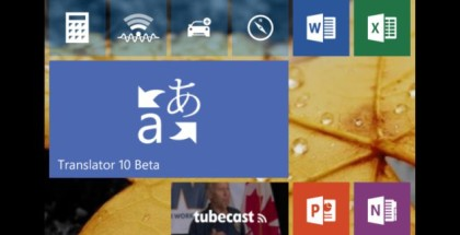 Windows 10 Translator logo