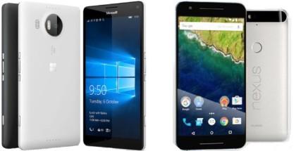 950 xl vs Nexus 6P