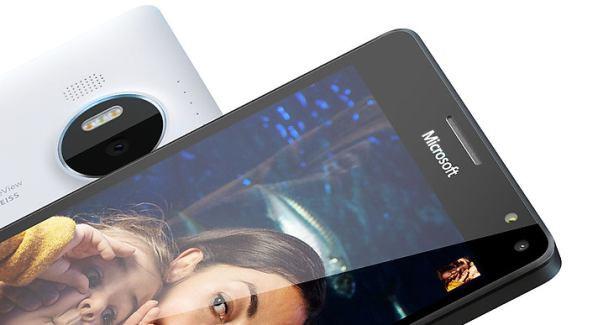 Microsoft Lumia 950 X back front