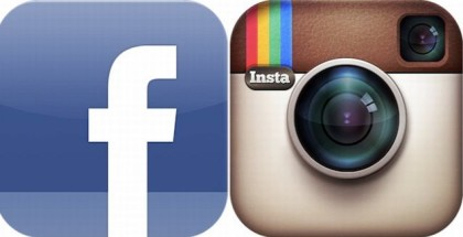 logo of Facebook and Instagram