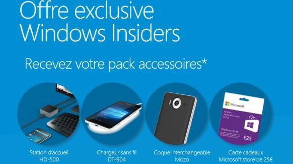 Lumia 950 free accessories offer france