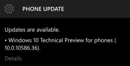 Mobile build 10586.36
