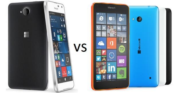 Quick Comparison Lumia 650 Versus Lumia 640