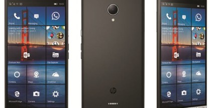 HP Elite x3 phone