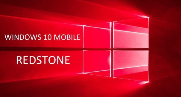 Windows 10 MObile Redstone