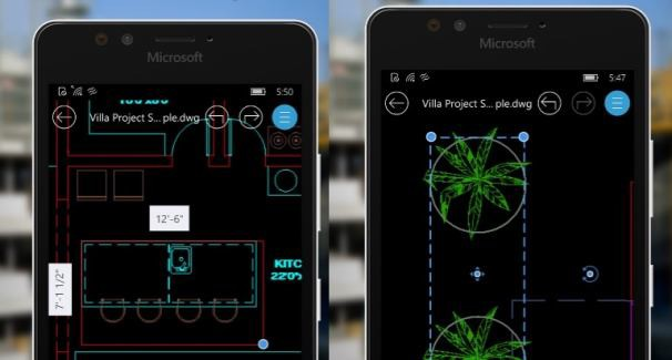 AutoCAD 360 for Windows Mobile 10